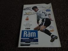 Derby County v Bradford City, 2000/01